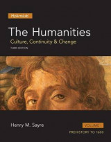 Omslag - The Humanities, Volume 1 with Myartslab Access Code