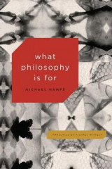 Omslag - What Philosophy Is for