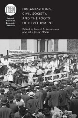 Omslag - Organizations, Civil Society, and the Roots of Development