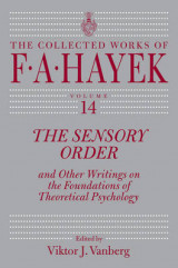 Omslag - Sensory Order and Other Writings on the Foundations of Theoretical