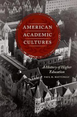 Omslag - American Academic Cultures
