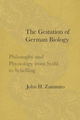 Omslag - The Gestation of German Biology