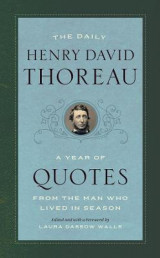 Omslag - The Daily Henry David Thoreau - A Year of Quotes from the Man Who Lived in Season