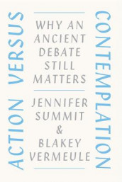Action Versus Contemplation av Jennifer Summit og Blakey Vermeule (Heftet)