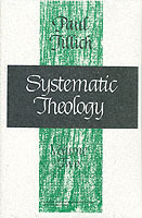 Omslag - Systematic Theology: Existence and the Christ v.2