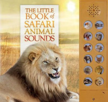 The Little Book of Safari Animal Sounds av Andrea Pinnington og Caz Buckingham (Innbundet)