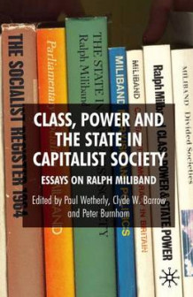 Class, Power and the State in Capitalist Society (Innbundet)