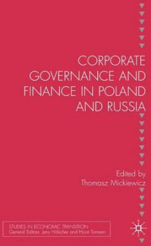 Corporate Governance and Finance in Poland and Russia (Innbundet)
