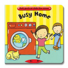 Busy Books: Busy Home (Pappbok)