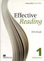 Effective Reading 1 - Elementary Student Book av Chris Gough (Heftet)