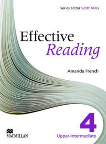 Effective Reading 4 - Upper Intermediate Student Book av Amanda French, Chris Gough og Jacie Mcavoy (Heftet)