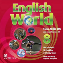 English World Level 8 av Liz Hocking, Mary Bowen og Wendy Wren (Lydbok-CD)