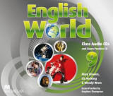 Omslag - English World 9 (Secondary) Class Audio CDs (3)