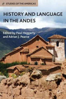 History and Language in the Andes (Innbundet)