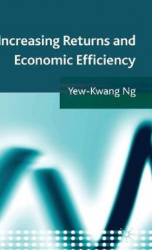 Increasing Returns and Economic Efficiency av Yew-Kwang Ng (Innbundet)