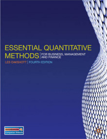 Essential Quantitative Methods av Les Oakshott (Heftet)