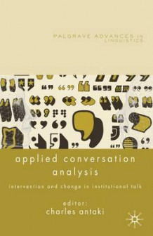 Applied Conversation Analysis (Innbundet)