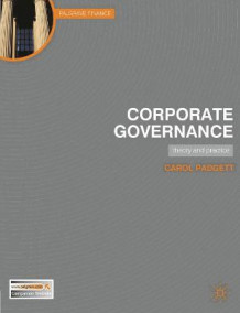 Corporate Governance av Carol Padgett (Heftet)