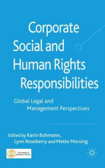Corporate Social and Human Rights Responsibilities (Innbundet)