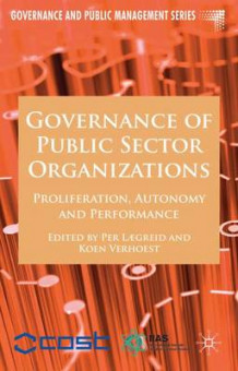 Governance of Public Sector Organizations (Innbundet)