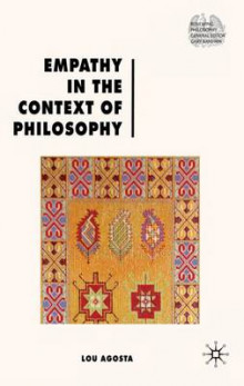 Empathy in the Context of Philosophy av Lou Agosta (Innbundet)