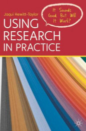 Using Research in Practice av Jaqui Hewitt-Taylor (Heftet)