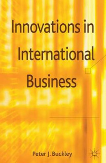 Innovations in International Business (Innbundet)
