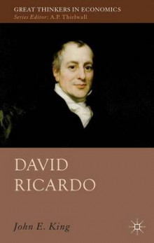 David Ricardo av J. King (Innbundet)