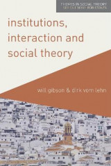 Omslag - Institutions, Interaction and Social Theory