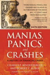 Omslag - Manias, Panics and Crashes