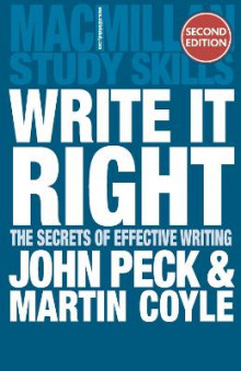 Write it Right av John Peck og Martin Coyle (Heftet)