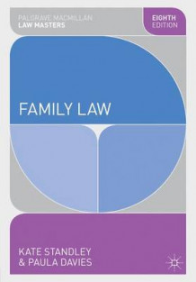 Family Law av Kate Standley og Paula Davies (Heftet)