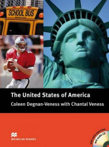 Macmillan Cultural Readers: The United States of America with CD Pre-intermediate Level: Pre-intermediate av Coleen Degnan-Veness og Chantal Veness (Blandet mediaprodukt)