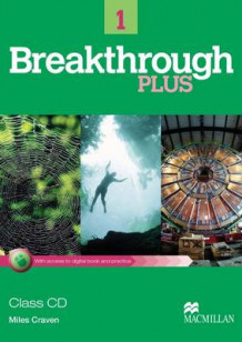 Breakthrough Plus Class Audio Level 1 av Miles Craven (Pappbok)