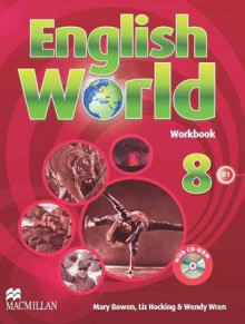 English World 8 Work Book & CD Rom av Mary Bowen, Liz Hocking og Wendy Wren (Blandet mediaprodukt)