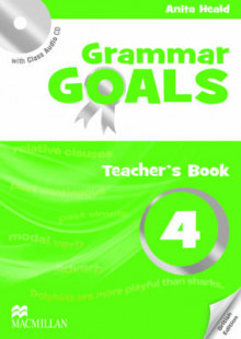 Grammar Goals: Teacher's Book Pack Level 4 av Anita Heald, Dave Tucker og Julie Tice (Blandet mediaprodukt)