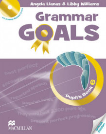 Grammar Goals: Pupil's Book Pack Level 6 av Libby Williams, Angela Llanas og Shona Evans (Blandet mediaprodukt)