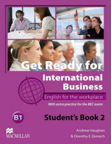Get Ready for International Business Student's Book with BEC Level 2 av Andrew Vaughan og Dorothy E. Zemach (Heftet)