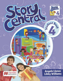 Story Central Level 4 Student Book Pack av Angela Llanas og Libby Williams (Blandet mediaprodukt)