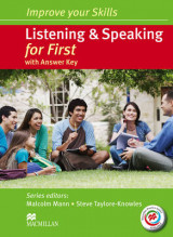 Omslag - Improve Your Skills Listening Speaking for First (With key + MPO)