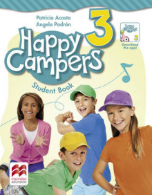 Happy Campers Level 3 Student's Book/Language Lodge av Patricia Acosta og Angela Padron (Heftet)