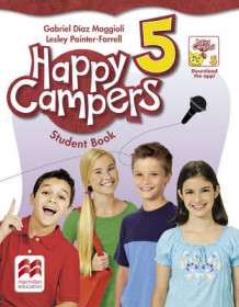Happy Campers Level 5 Student's Book/Language Lodge av Gabriel Diaz-Maggioli og Lesley Painter-Farrell (Heftet)