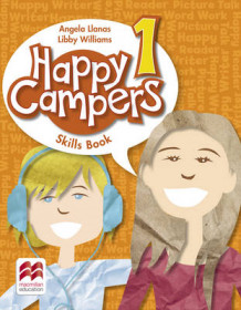 Happy Campers Level 1 Skills Book av Angela Llanas og Elizabeth Williams (Heftet)