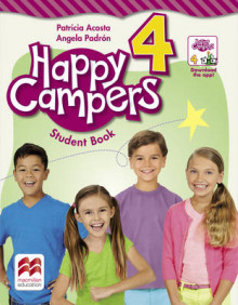 Happy Campers Level 4 Student's Book/Language Lodge av Patricia Acosta og Angela Padron (Heftet)