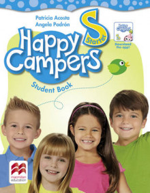 Happy Campers Starter - The Language Lodge - Student Book and Workbook av Patricia Acosta og Angela Padron (Heftet)