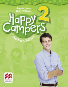 Happy Campers Level 2 Teacher's Edition Pack av Angela Llanas og Libby Williams (Blandet mediaprodukt)