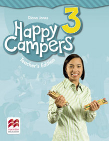 Happy Campers 3 Teacher's Book Pack av Diana Jones (Blandet mediaprodukt)