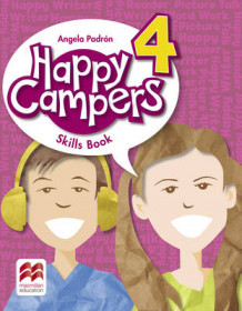 Happy Campers Level 4 Skills Book av Angela Padron (Heftet)