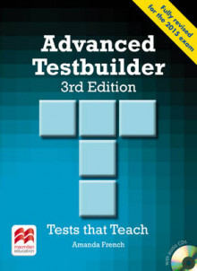 Advanced Testbuilder 3rd Edition Student's Book Without Key Pack av Amanda French (Blandet mediaprodukt)