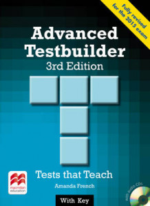 Advanced Testbuilder CAE 3rd Edition Student's Book with Key Pack av Amanda French (Blandet mediaprodukt)